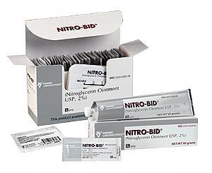 Nitro-Bid (Nitroglycerin) Ointment, USP 2% - 30g