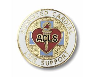 Advanced Cardiac Life Support Emblem Pin