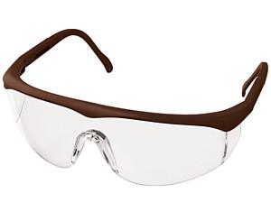 Colored Full-Frame Adjustable Eyewear, Chocolate