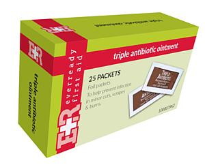 Triple Antibiotic Ointment Packets, 0.9g, 25's