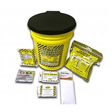 Earthquake Preparedness Kit - 1 Person Bucket
