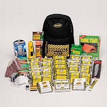 Earthquake Survival Preparedness Deluxe Kit - 1 Person Backpack