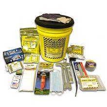 Earthquake Preparedness Deluxe Kit - 2 Person Bucket