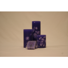"4"" Lavender Pillar"