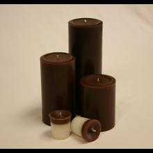 4 inch Chocolate Pillar