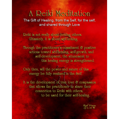 Art: Reiki Meditation