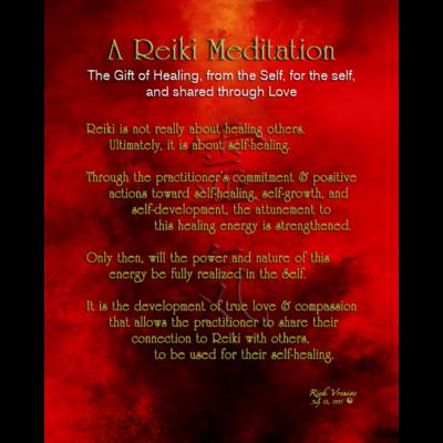 Art: Reiki Meditation