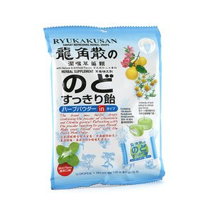 Ryukakusan Powder-In Herbal Drop (Mint flavor - 15 drops)