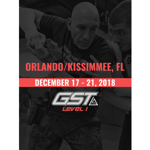 Level 1 Full Certification: Orlando/Kissimmee, FL (December 17-21, 2018)