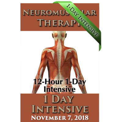Neuromuscular Therapy 12-Hour Intensive - Nov 7, 2018