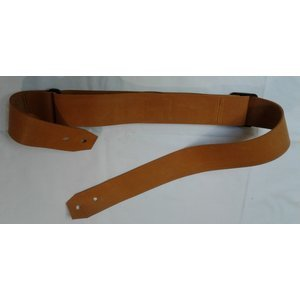 "Caramel Leather 2"" Guitar Strap"