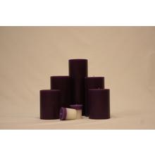 "9"" Lavender Woods Pillar"